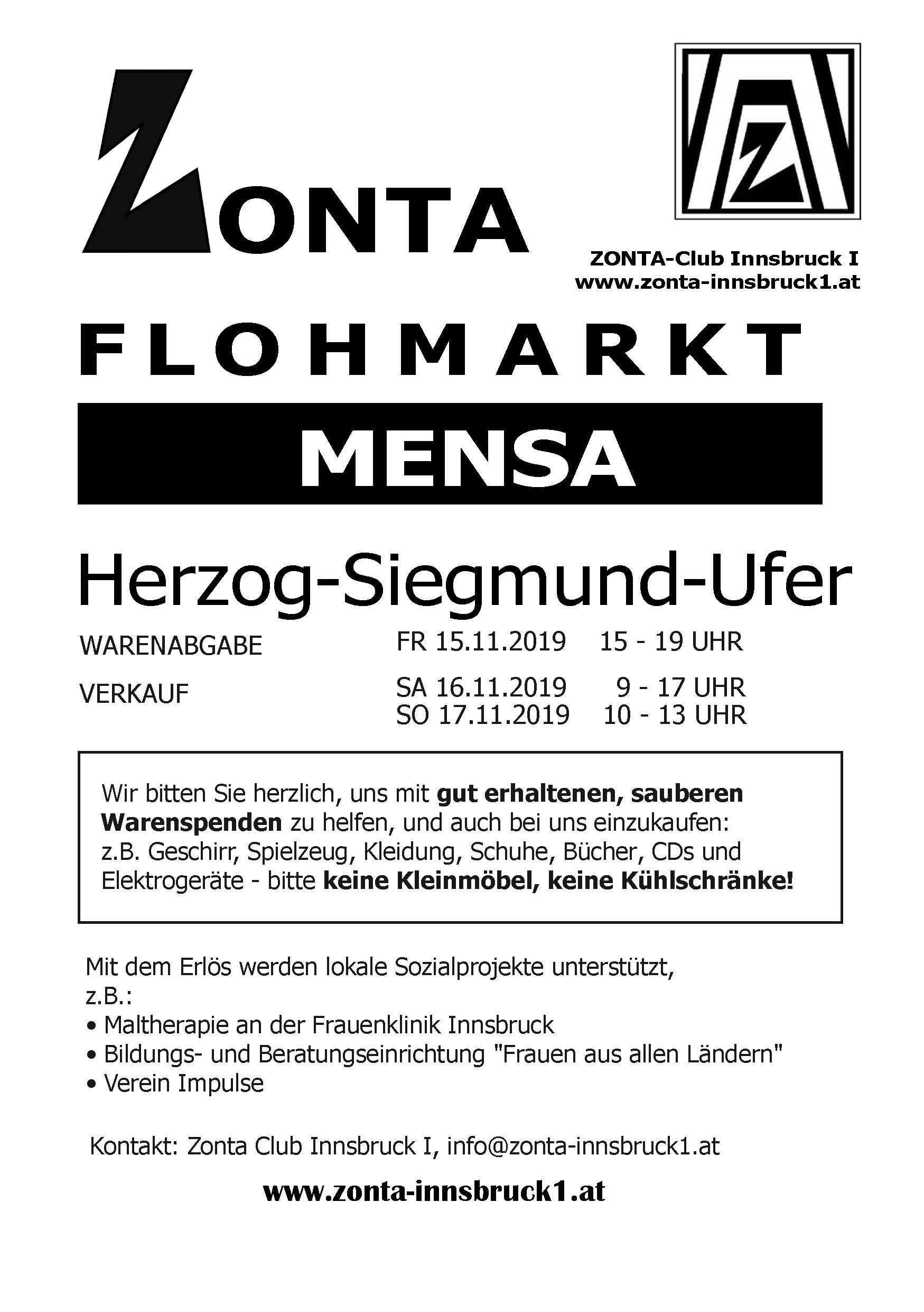 Zonta Flohmarkt 2019